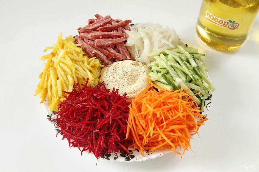 лучше салат огни парижа рецепт с фото пошагово всего разнообразия
