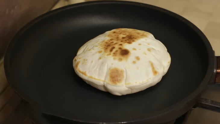 Пита – арабская лепешка без дрожжей