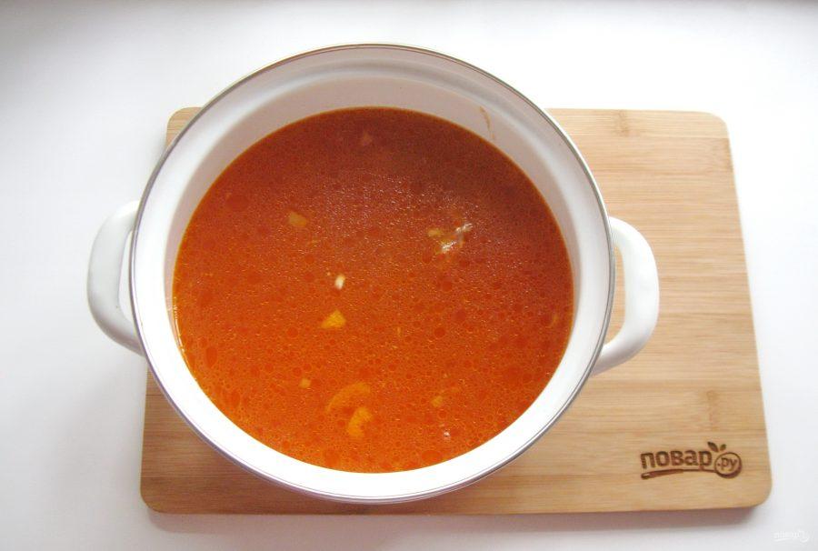 """Суп """"Кесме"""" по-киргизски - фото шаг 6"""