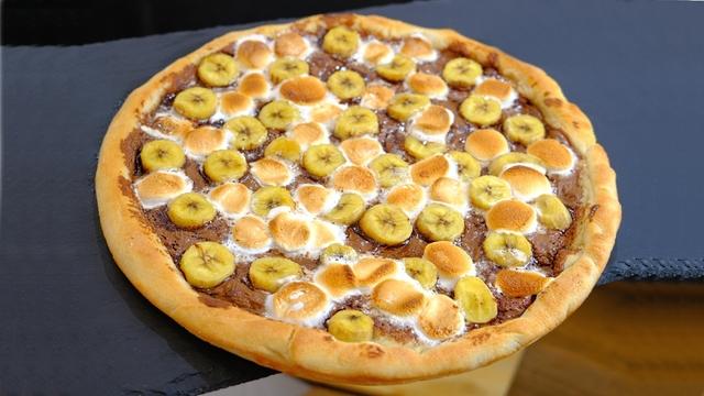 Фото к рецепту: Сладкая пицца