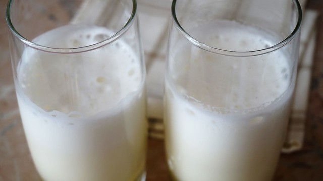 Фото к рецепту: Коктейль,напиток из сыворотки