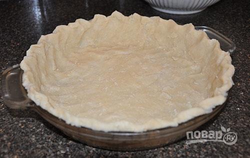Закусочный пирог с сырным соусом - фото шаг 1