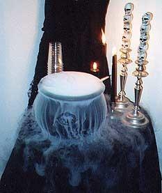 Фото к рецепту: Варево ведьм к хэллоуину