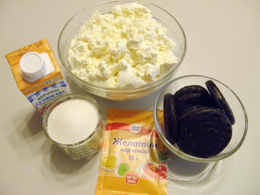 Сырный чизкейк без выпечки - фото шаг 1