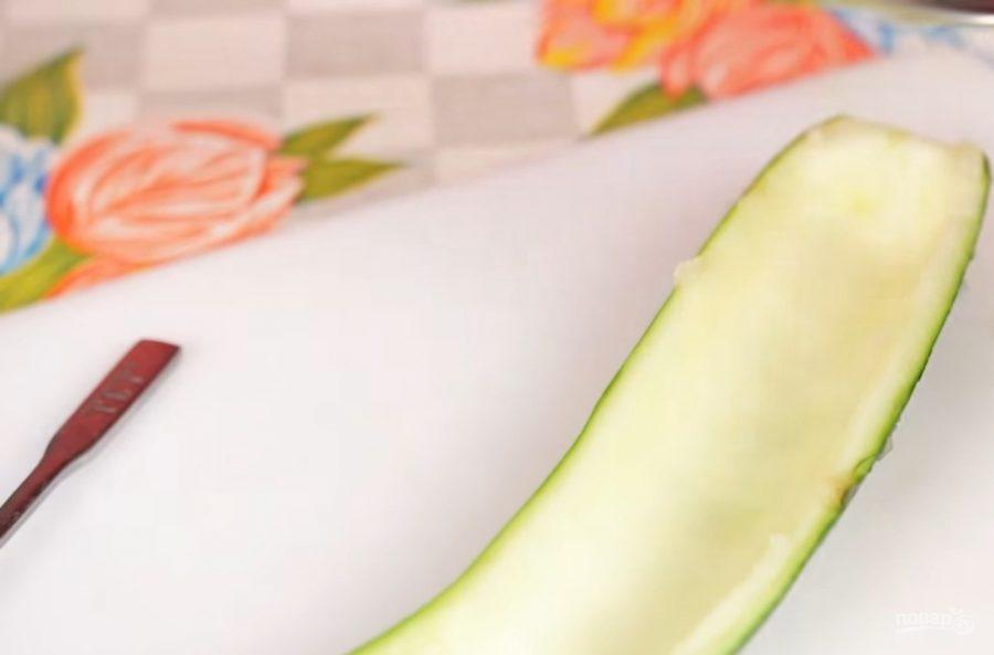 Фаршированные кабачки (цукини) - фото шаг 1