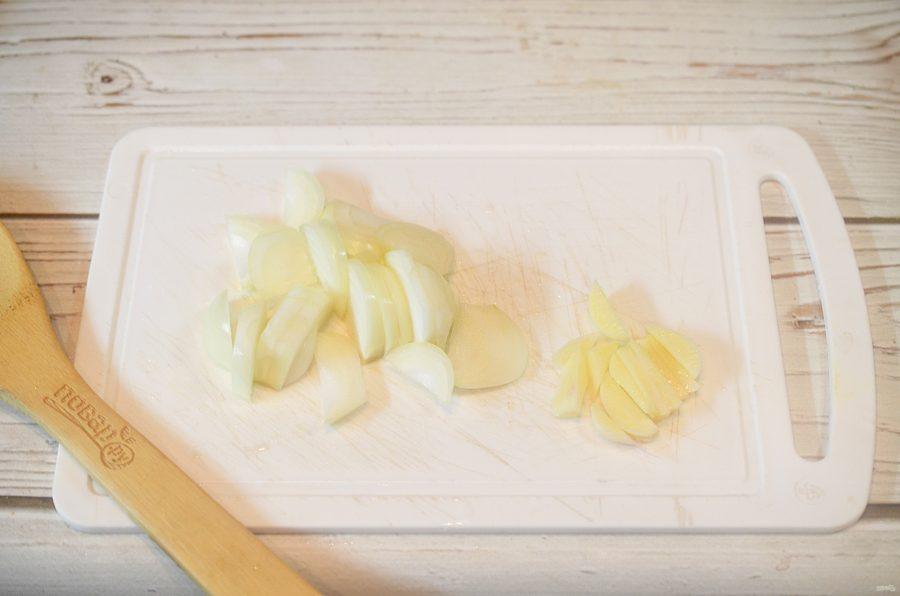 Шведская запеканка с лососем - фото шаг 3