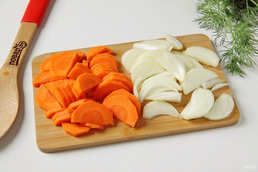 Уха с овощами - фото шаг 4