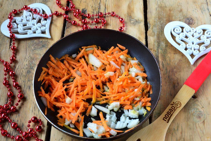 Новогодний салат в Год Собаки - фото шаг 3