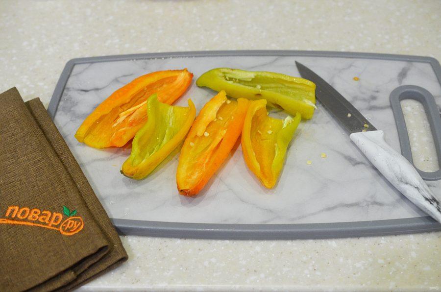 Запеченные фаршированные перцы - фото шаг 3