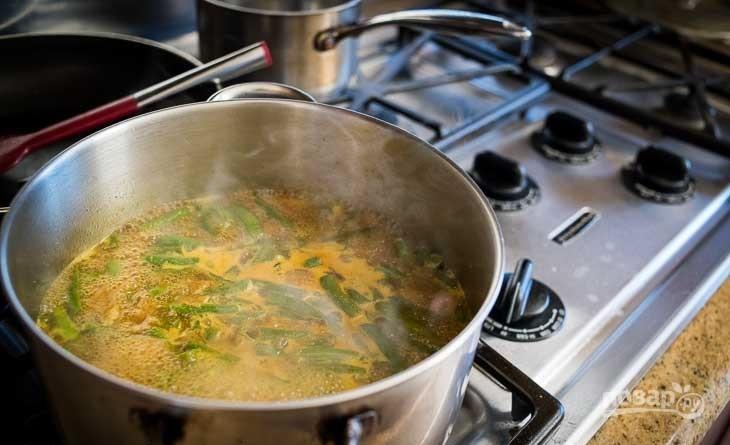 Суп из стейка семги - фото шаг 3