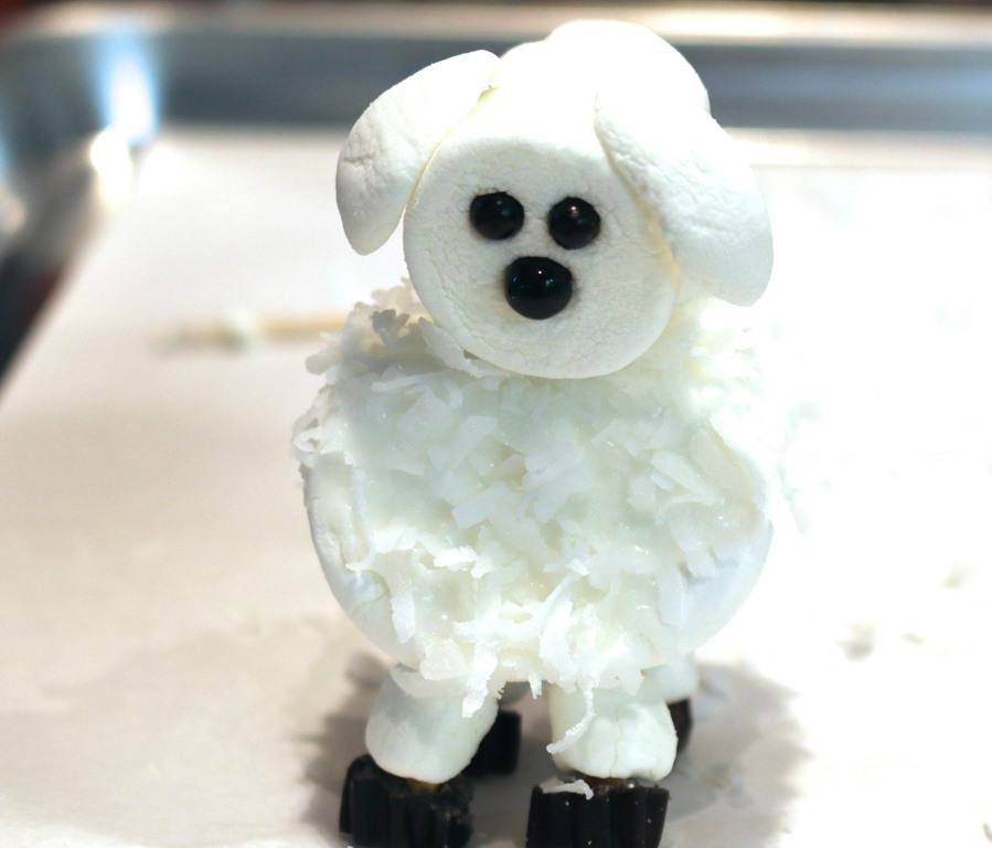 """Десерт """"Овца"""" без выпечки - фото шаг 4"""