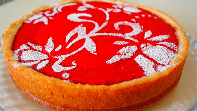 Фото к рецепту: Пирог трехслойный