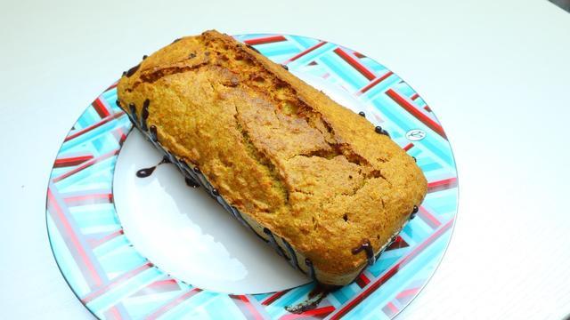 Фото к рецепту: Сочный апельсиновый кекс простой рецепт