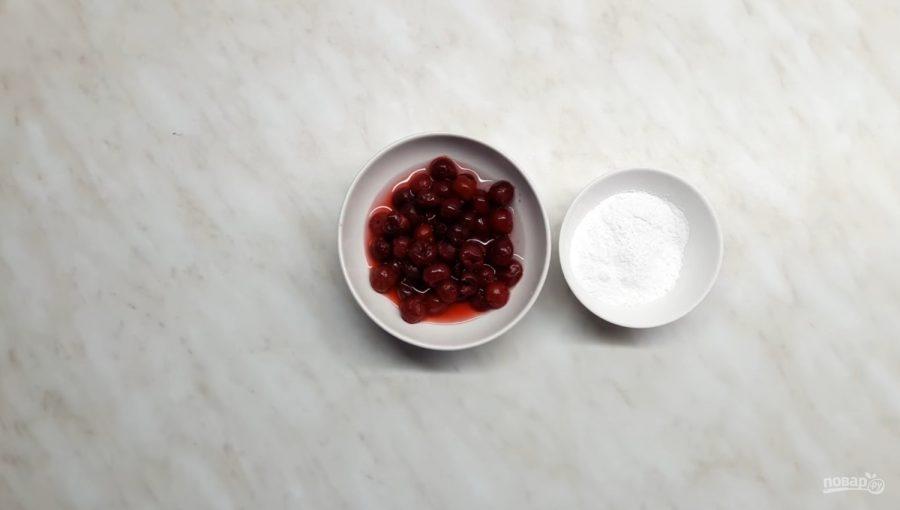 """Сметанное желе """"Полосатое"""" - фото шаг 2"""