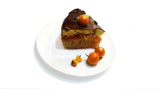 Фото к рецепту: Торт райское яблочко