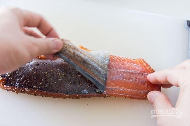 Закуска из слабосоленого лосося - фото шаг 6