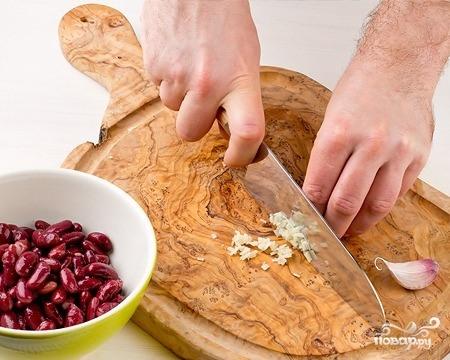 Лобио из консервированной красной фасоли - фото шаг 1