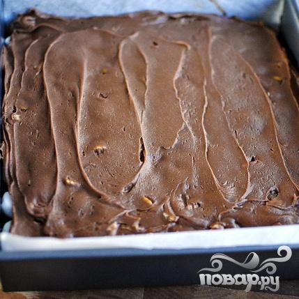 Шоколадные пирожные с орехами и суфле - фото шаг 8