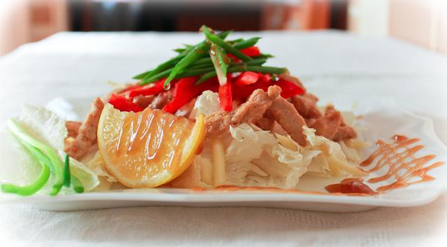 Фото к рецепту: Салат wellness в китайском стиле.