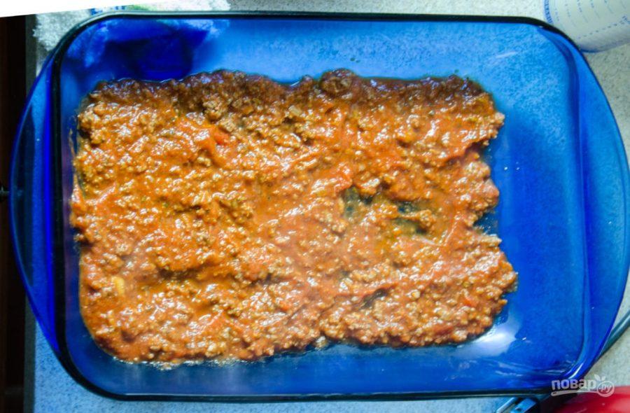 Лазанья мясная - фото шаг 3