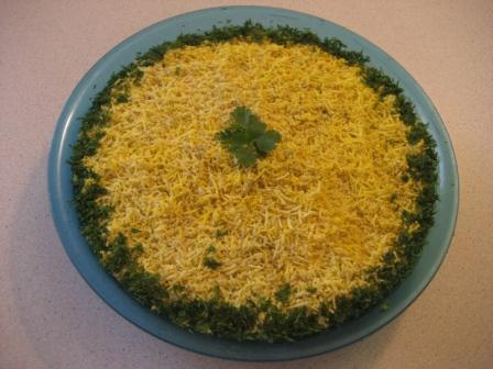 Фото к рецепту: Салат быстро и вкусно