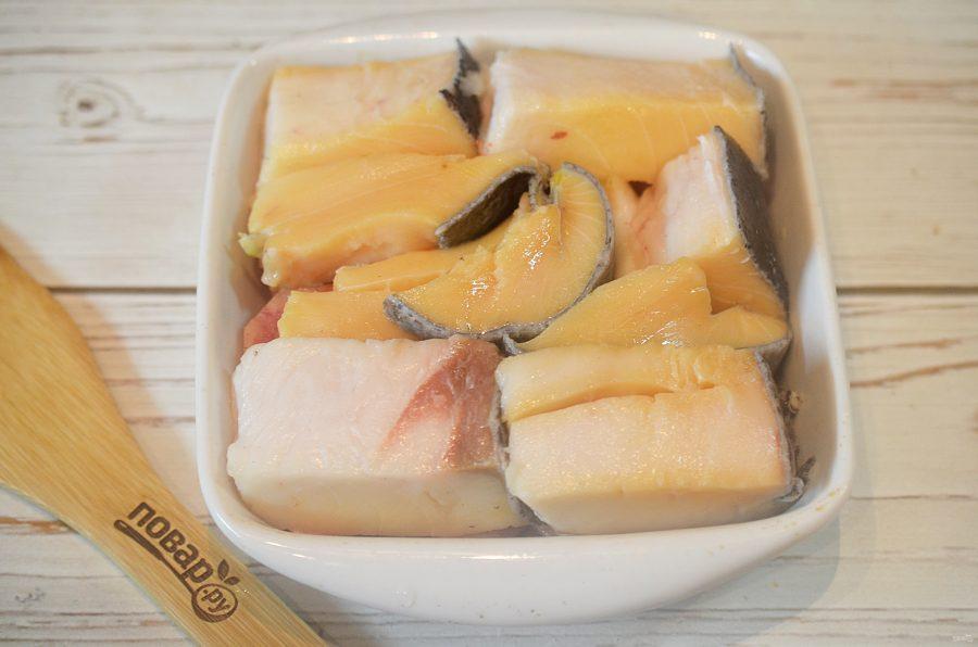 Рыба с картофелем под масляной корочкой - фото шаг 7