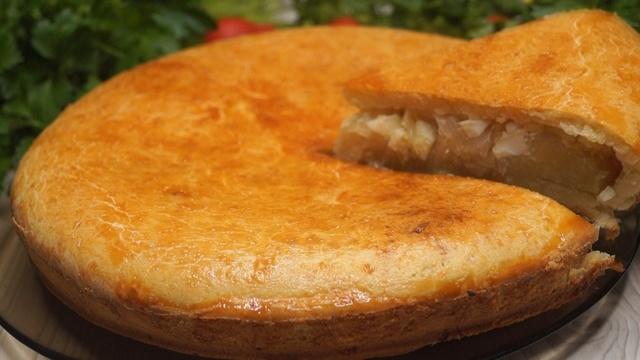 Фото к рецепту: Безумно вкусный капустный пирог. сметут все за секунды!