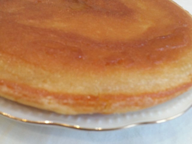 Фото к рецепту: Пирог без сахара на сковороде, за 10 минут