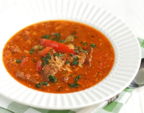 """Настоящий суп """"Харчо"""""""