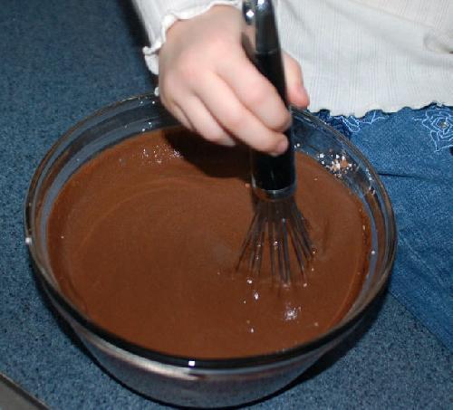 Шоколадный пудинг - фото шаг 3