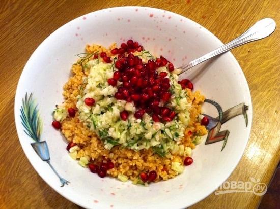 Лосось с салатом - фото шаг 9