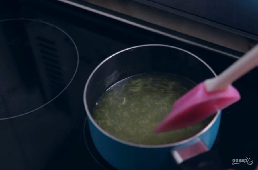 Лимонный сорбет (ледяной десерт) - фото шаг 2