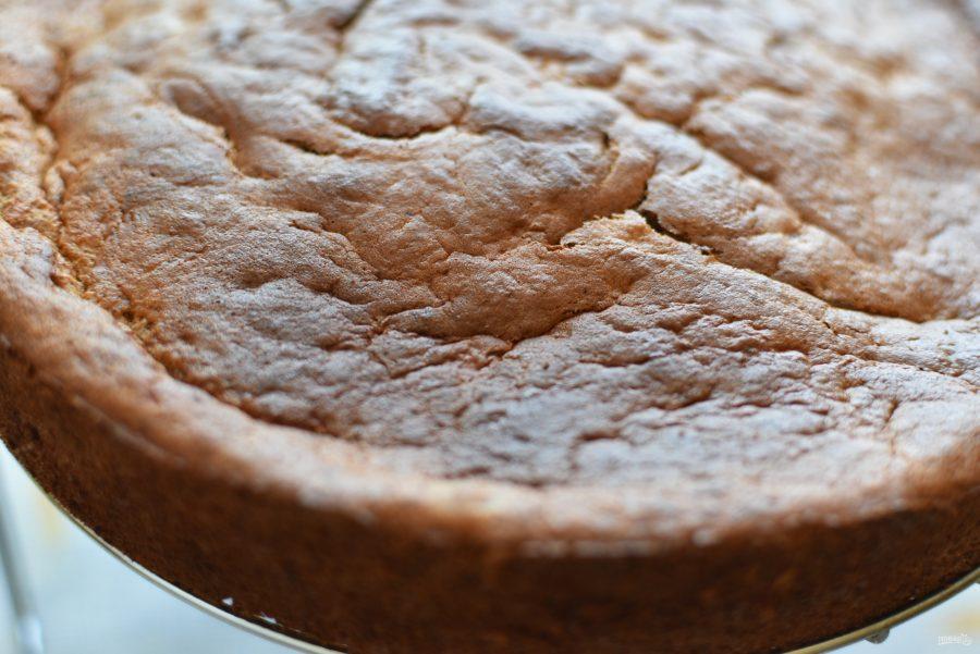 Торт клубнично-банановый с нежным муссом - фото шаг 6