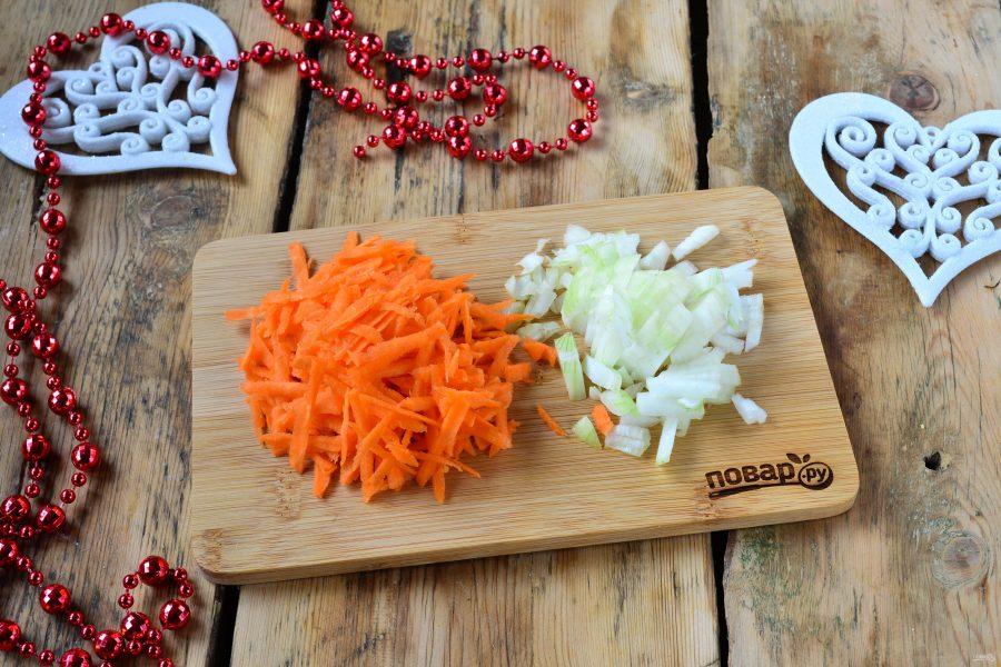Новогодний салат в Год Собаки - фото шаг 2