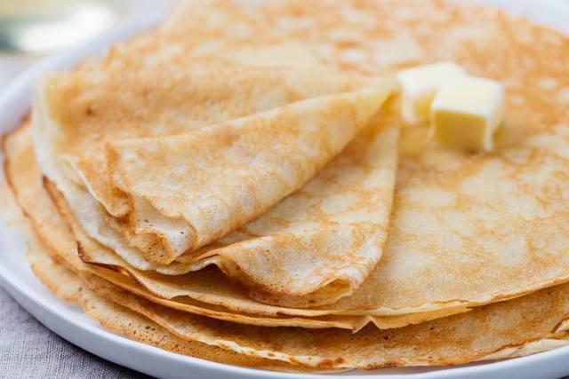 Фото к рецепту: Блины на молоке, заварное тесто