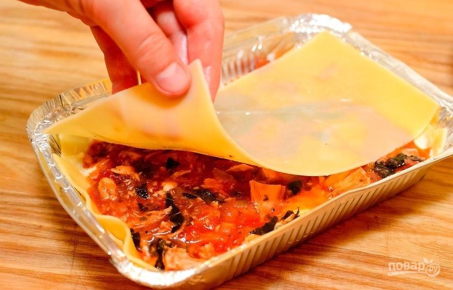 Рыбная лазанья с тунцом - фото шаг 5