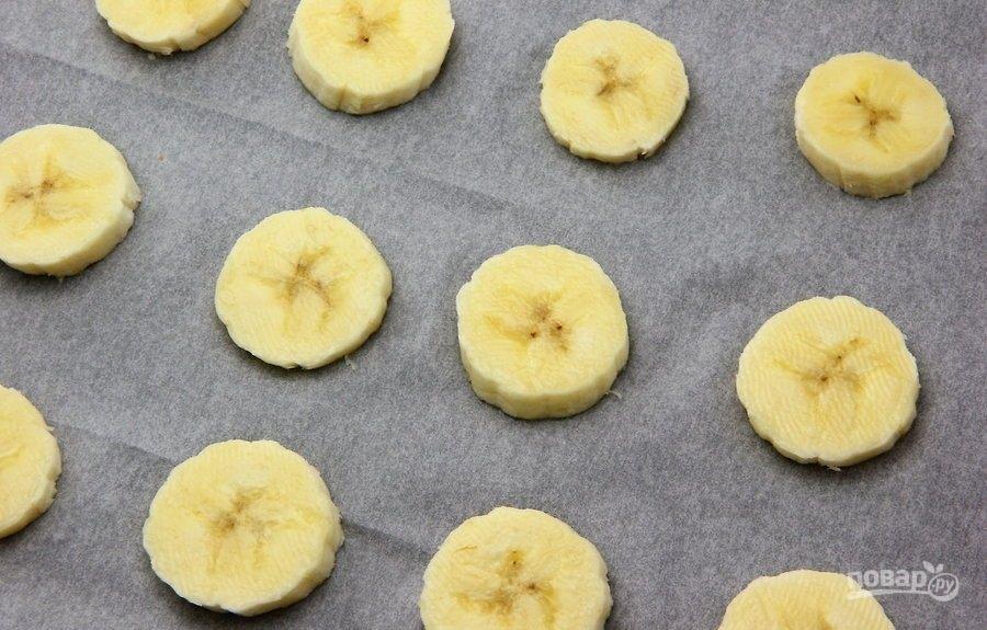 Сладкие банановые сендвичи - фото шаг 1