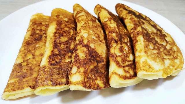 Фото к рецепту: Оладья-пирожки
