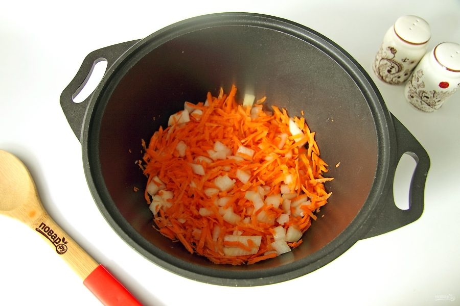 Рагу с краковской колбасой - фото шаг 2