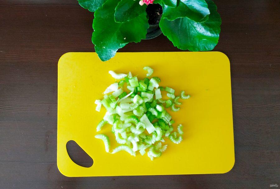 """""""Ленивый"""" салат - фото шаг 2"""