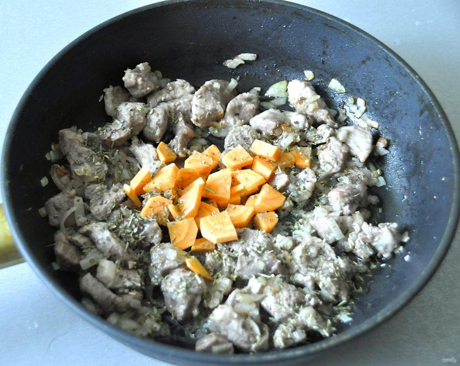 Штрудли с картофелем и мясом - фото шаг 7