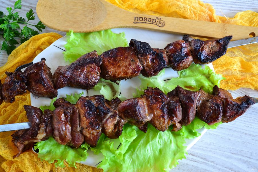 Шашлык из свинины в соевом соусе - фото шаг 6