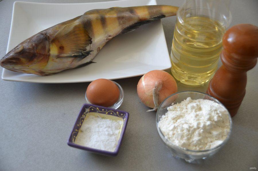 Терпуг, жареный на сковороде - фото шаг 1