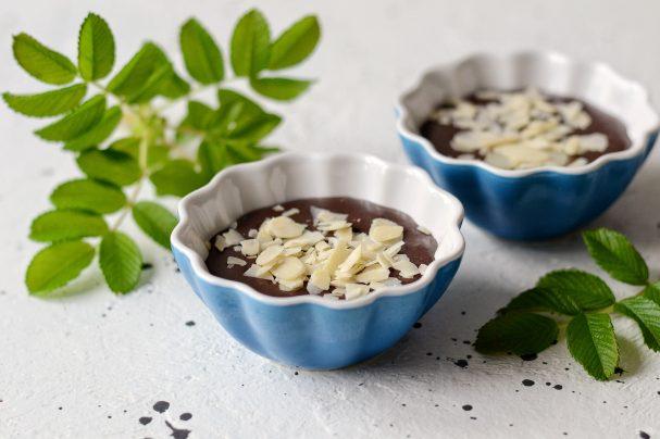 Шоколадный десерт без выпечки