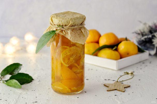 Сироп из мандаринов