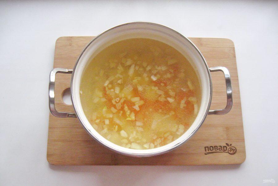Баварский суп с колбасками - фото шаг 6