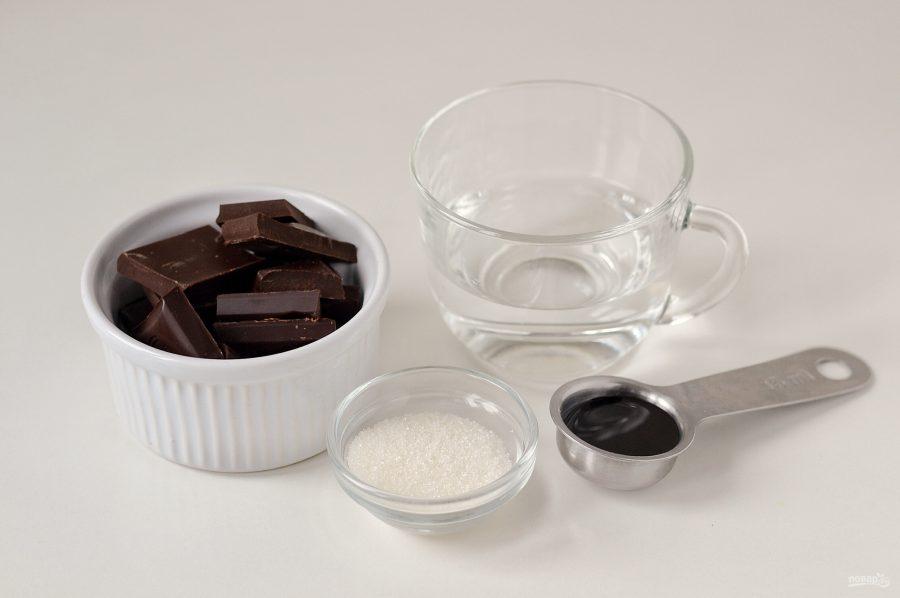 Постный шоколадный мусс - фото шаг 1