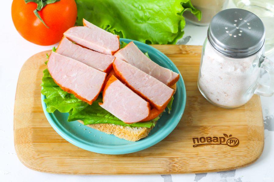 Сэндвич в школу - фото шаг 5