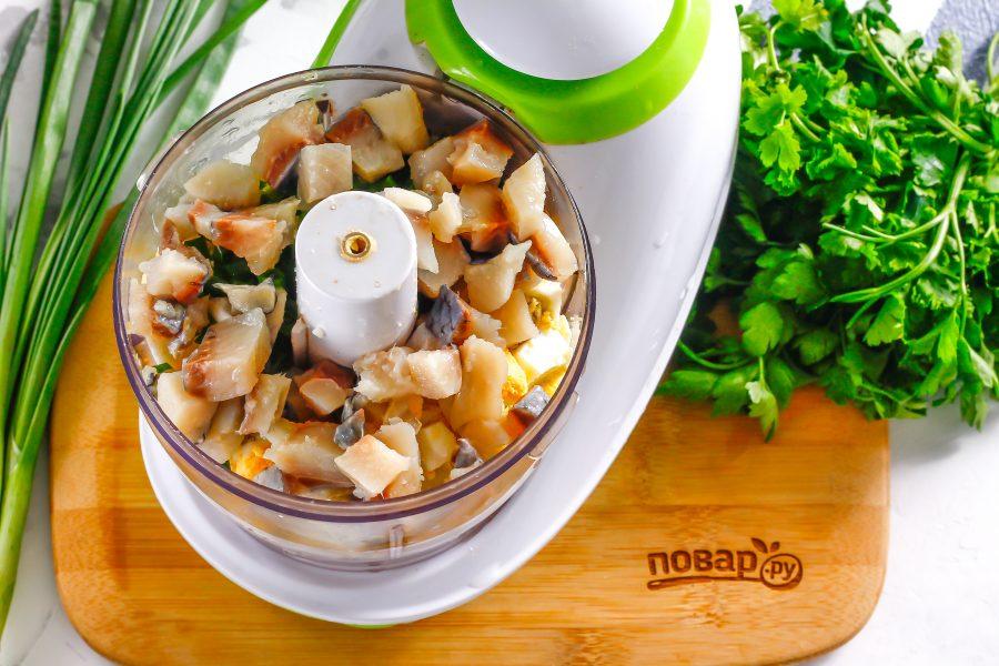 Картофельный форшмак - фото шаг 4