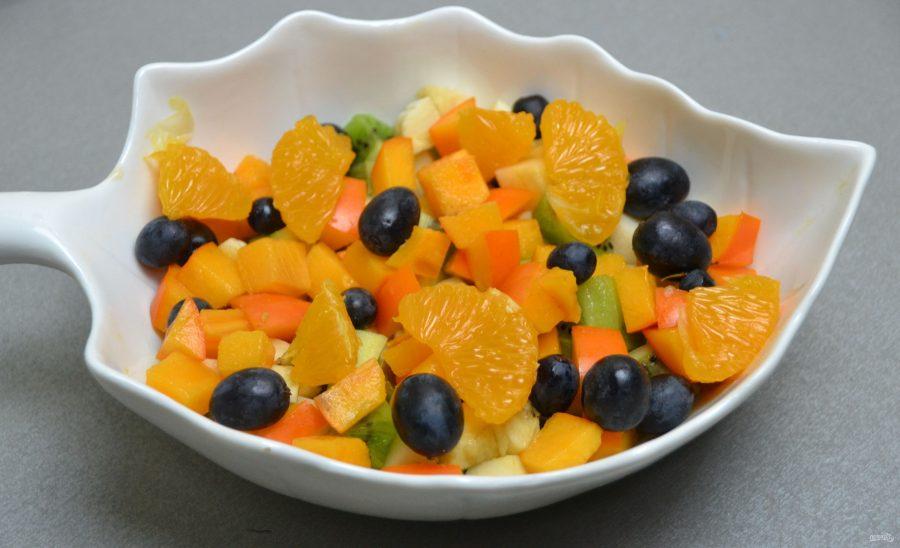 Постный фруктовый салат - фото шаг 7
